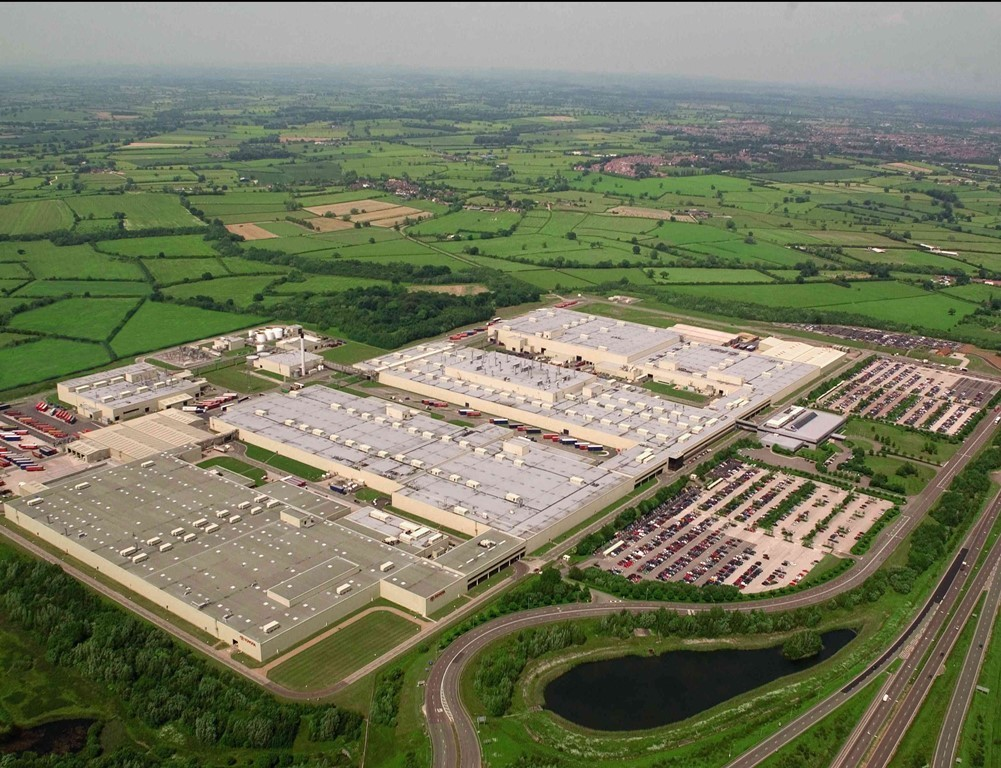 Toyota Werk Valenciennes Frankreich