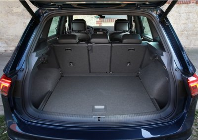 VW Tiguan Kofferraum