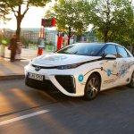 Wasserstoff-Roadtrip mit dem Toyota Mirai