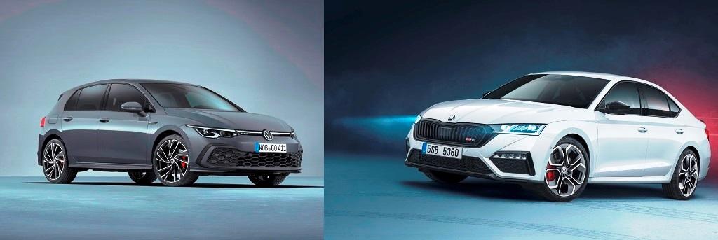Skoda Octavia RS und VW Golf GTD – Brüder im Geiste