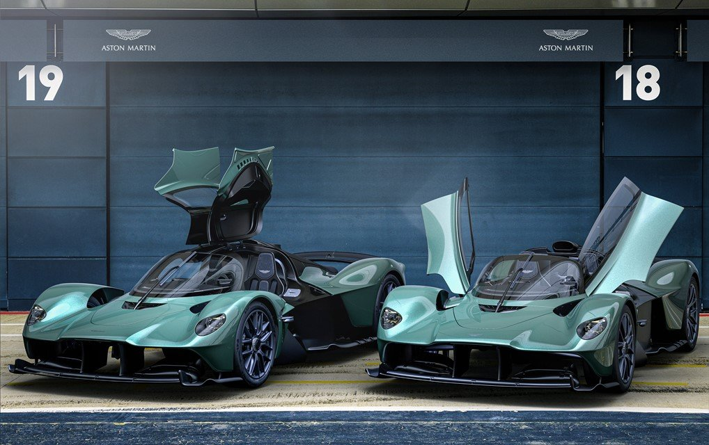 Aston Martin Valkyrie Spider – Formel 1 für die Straße