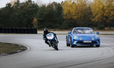 MV Agusta im Look einer Alpine – Blue Soul