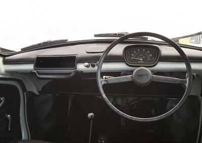 Subaru360 Cockpit