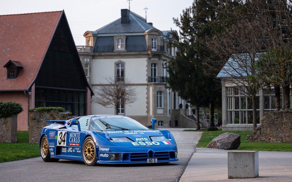 Bugatti EB110 – Der Erste seit 1956