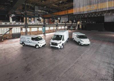 Maxus Deliver 9 und Maxus EV80 und Maxus eDeliver3