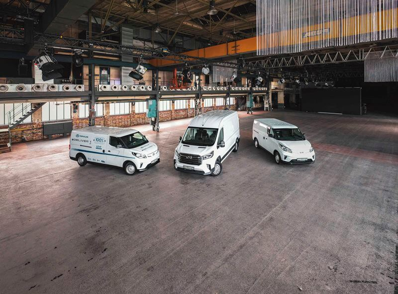 Maxus – Neue Transporter aus China