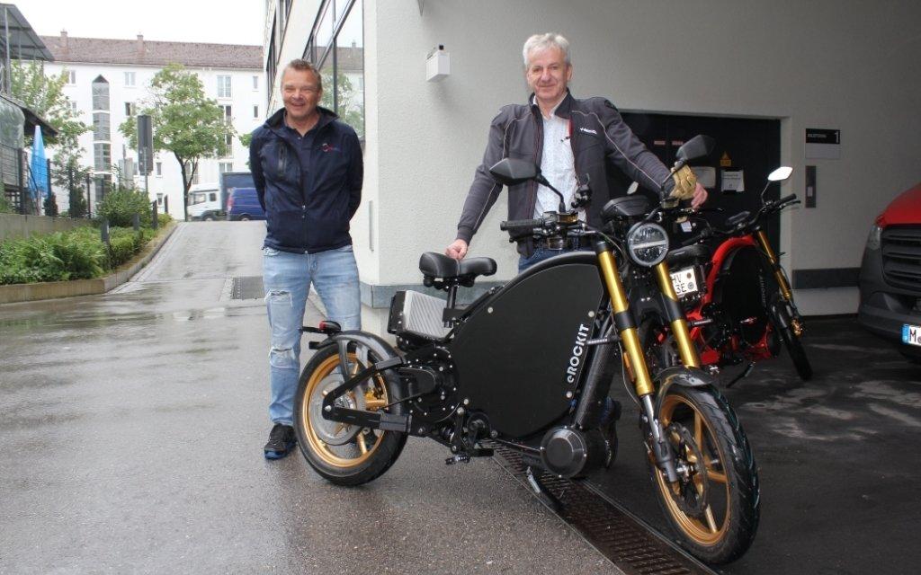 eRockit – Sensationeller Mix aus Fahrrad und Motorrad