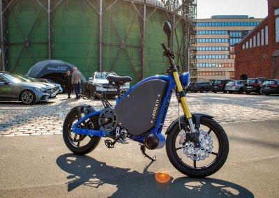 Made in Germany: Das Elektromotorrad eROCKIT.