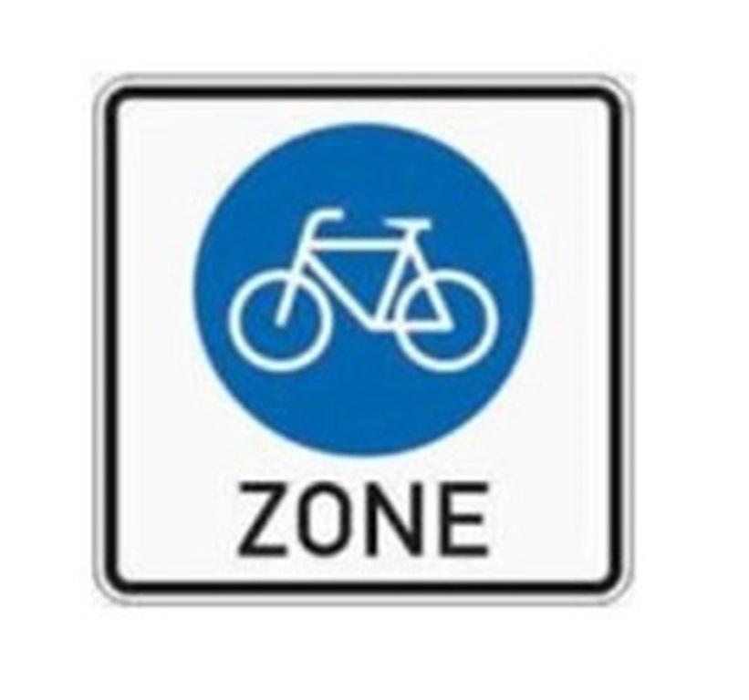 Fahrradzone