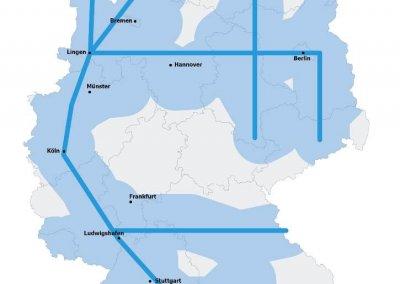 H2 Infrastruktur Deutschland