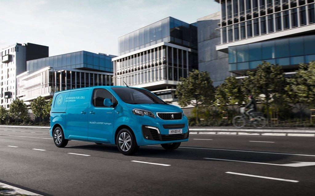 Peugeot e-Expert Hydrogen – Wasserstofftransporter