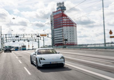 Der neue Porsche Taycan