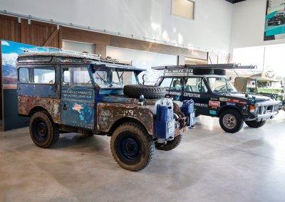 Range Rover und Land Rover