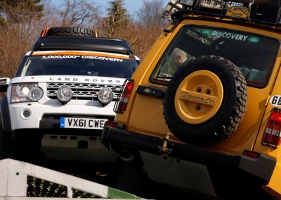 Land Rover Discovery 09