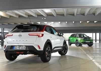 Opel Mokka GS-Line und Opel Mokka-e