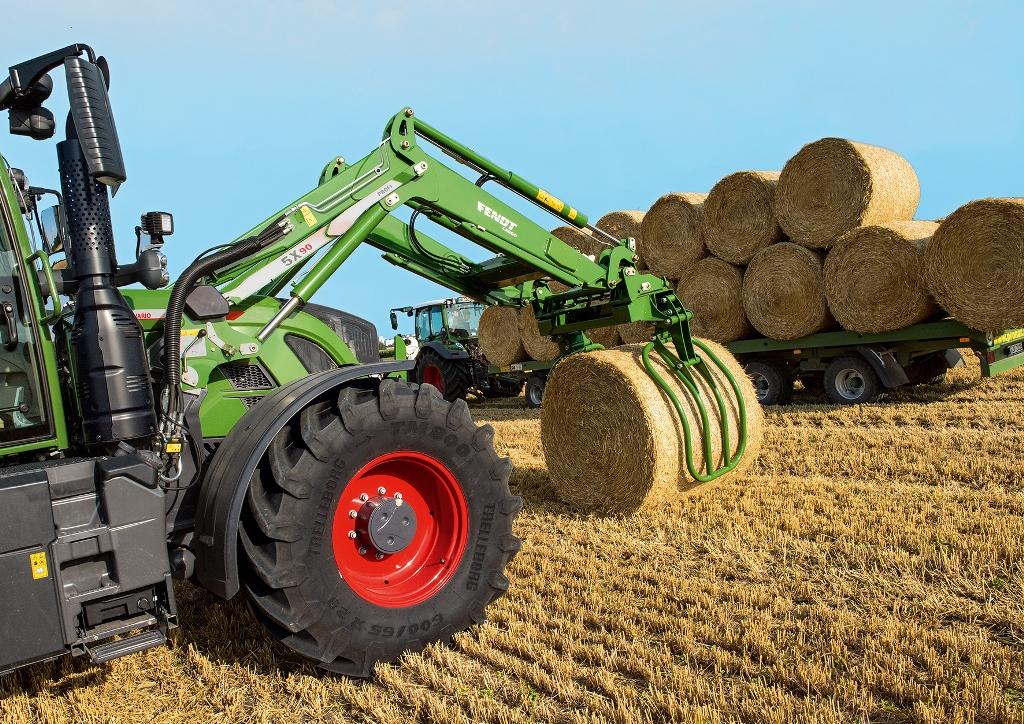 Erntezeit Fendt Traktor