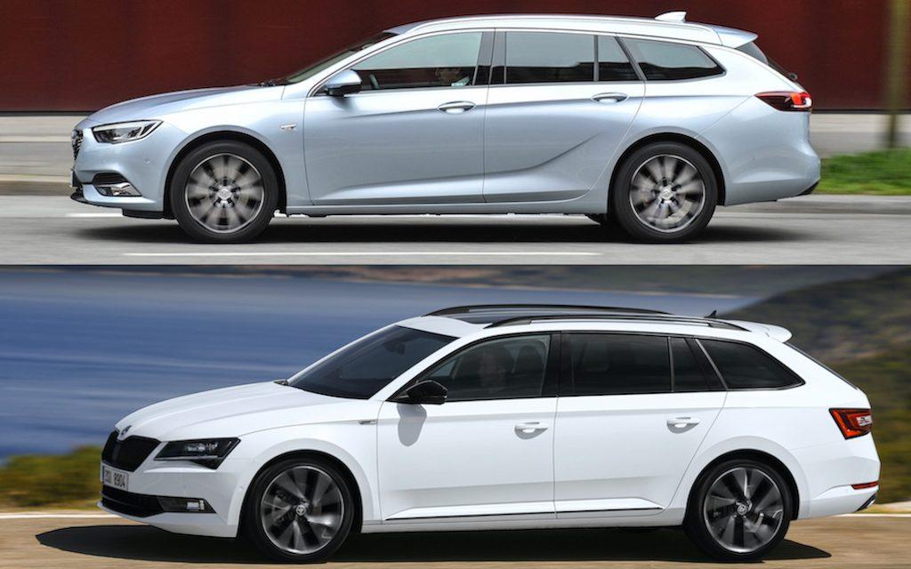 Vergleich Opel Insignia und Skoda Superb – Die beiden Größen