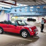 Cabrios sind auch offen geparkt versichert