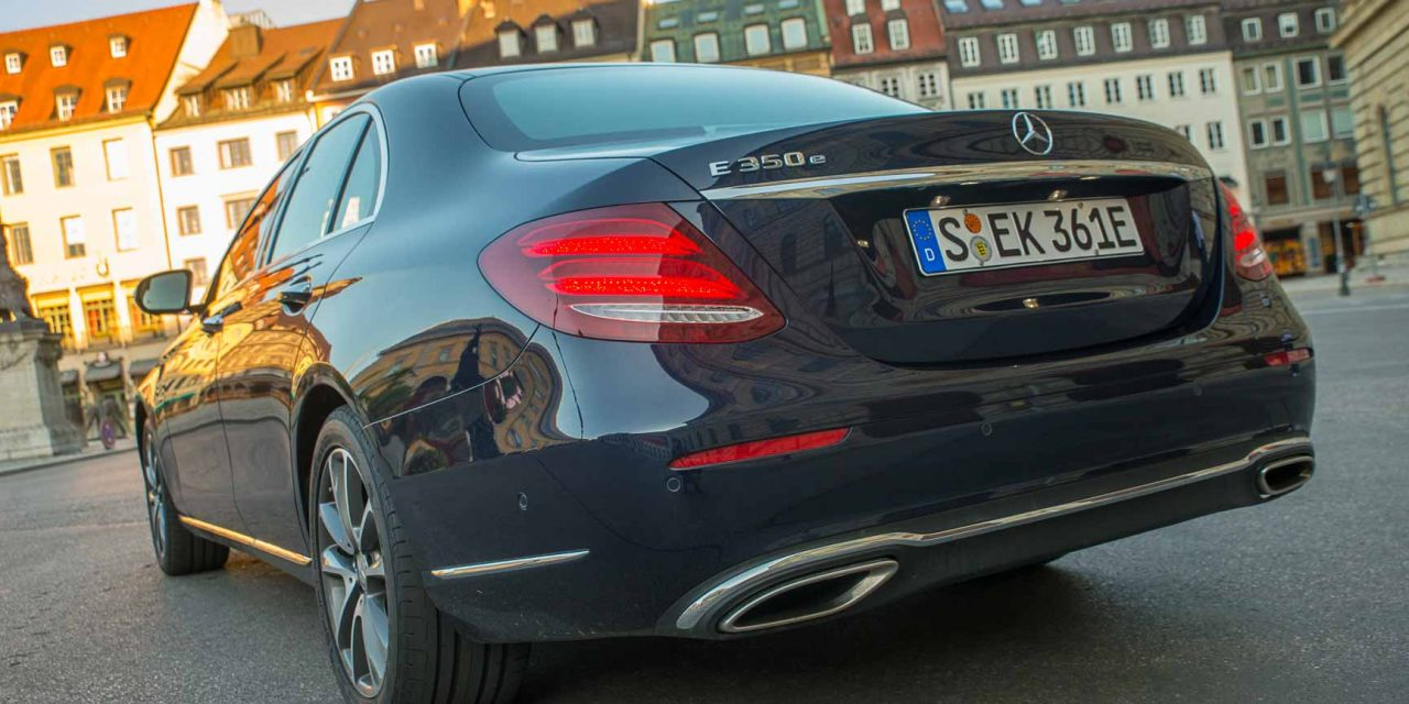 Video Mercedes-Benz E 350 e