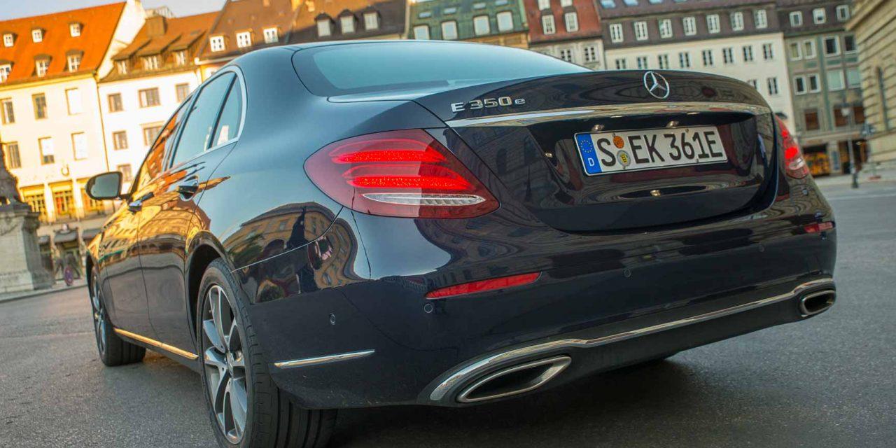 Video Mercedes-Benz E 350 e