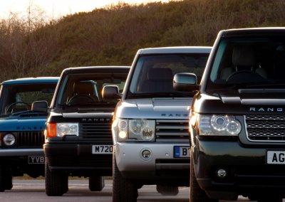 Range Rover Erste vier Generationen