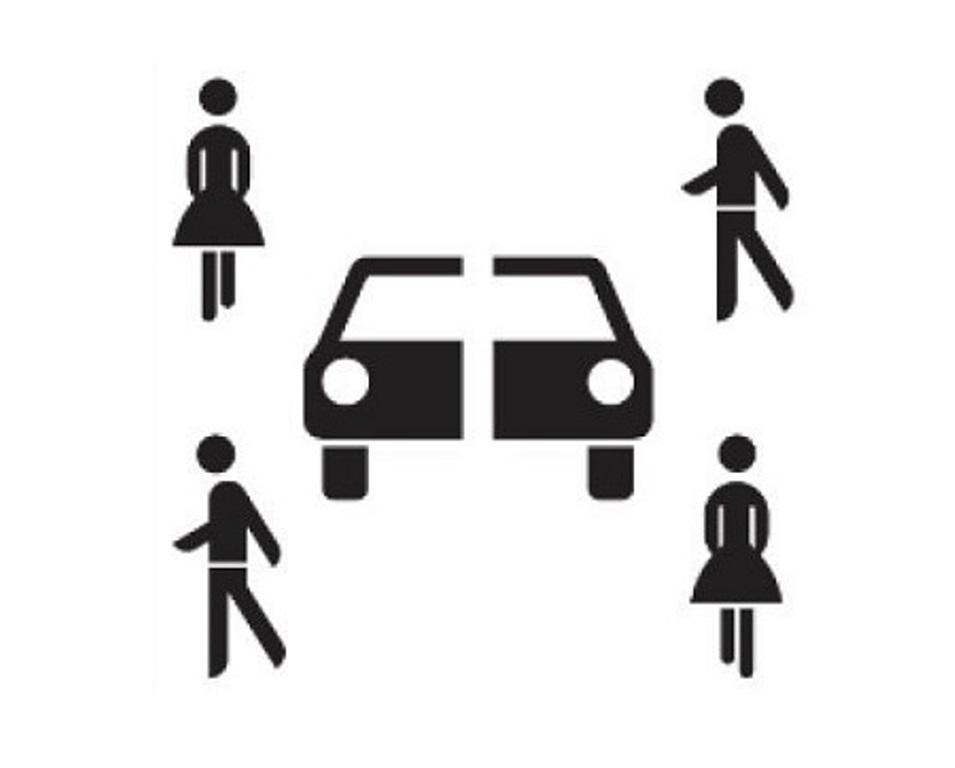 Carsharing Verkehrsschild