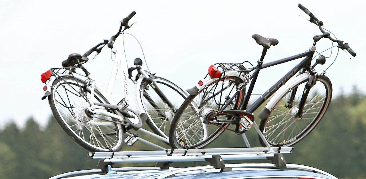 So montieren Sie Träger und Fahrrad richtig